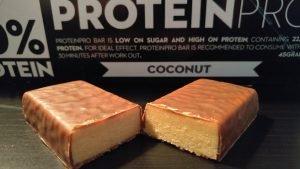 Proteinpro 50% Eiweißriegel Test FCB Sweden