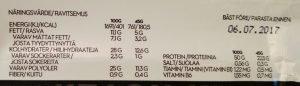 Proteinpro 50% Eiweißriegel Test