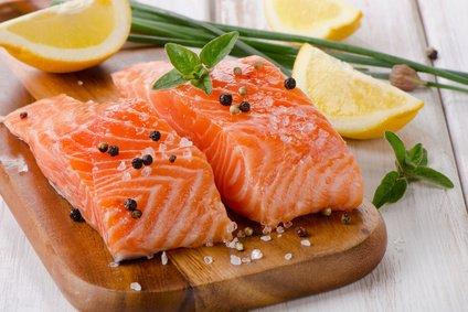 Lachs Fischöl schnellen stoffwechsel