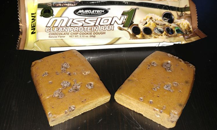 Mission1 Clean Protein Bar Muscle Tech