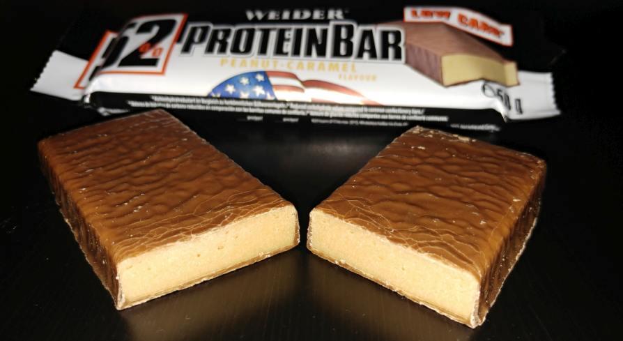 Weider 52% Protein Bar Test