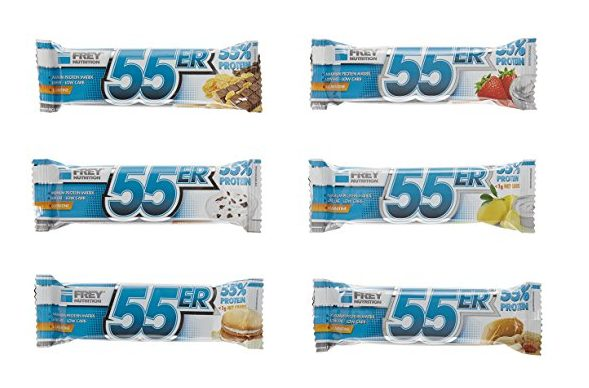 55er Eiweißriegel Test