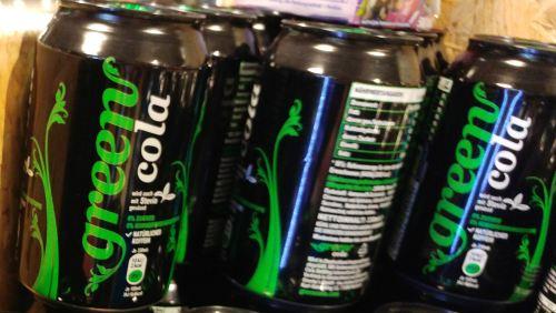 Green Cola mit Stevia