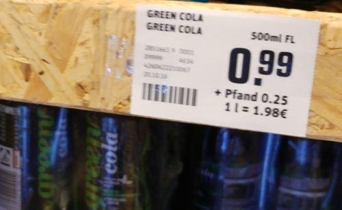 wo Green Cola kaufen