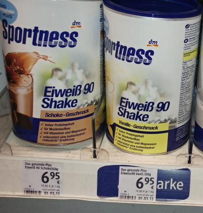DM Proteinpulver Shake