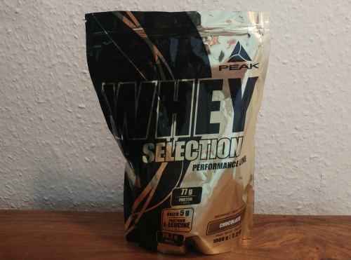 Peak Whey Selection Test