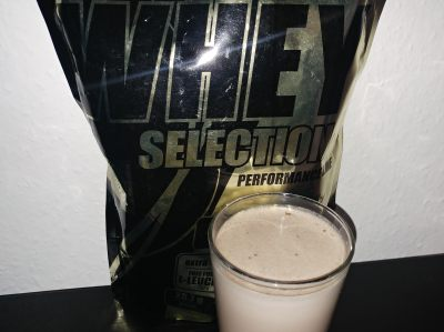 Whey Protein Selection Test