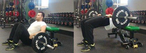 Hip Thrusts Technik Übungen