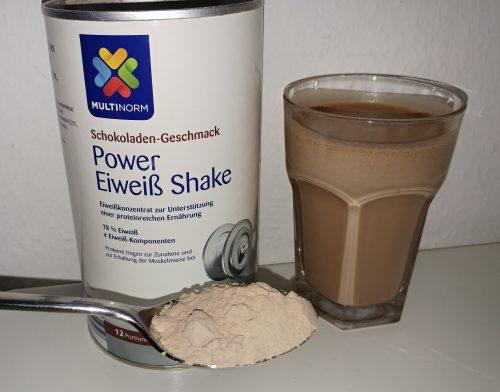 Aldi Eiweisspulver Im Test Multinorm Power Eiweiss Shake