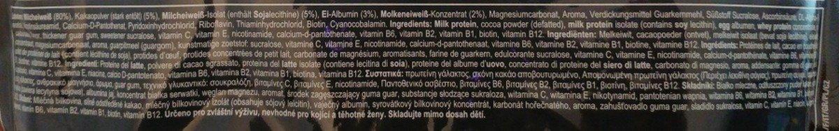 Zutaten Allstars Hypro Mehrkomponenten Protein