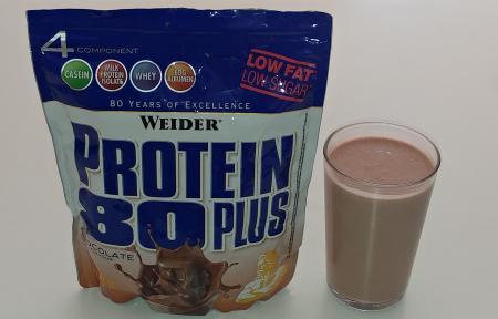 Weider Protein 80 Plus Test