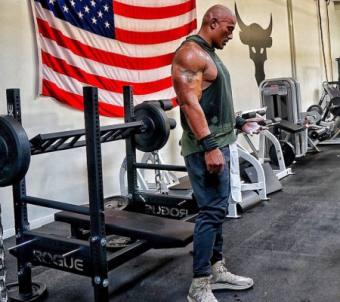 Trainingsplan von The Rock