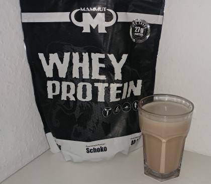 Whey Mammut Protein Test