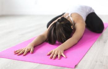 Latex yogamatte