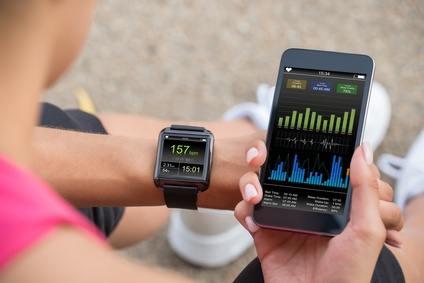 Pulsuhr mit App Fitness Tracker