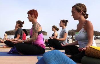 Sport BH fuehr Yoga
