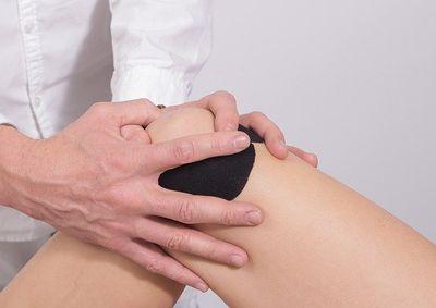 Kniebandage Test